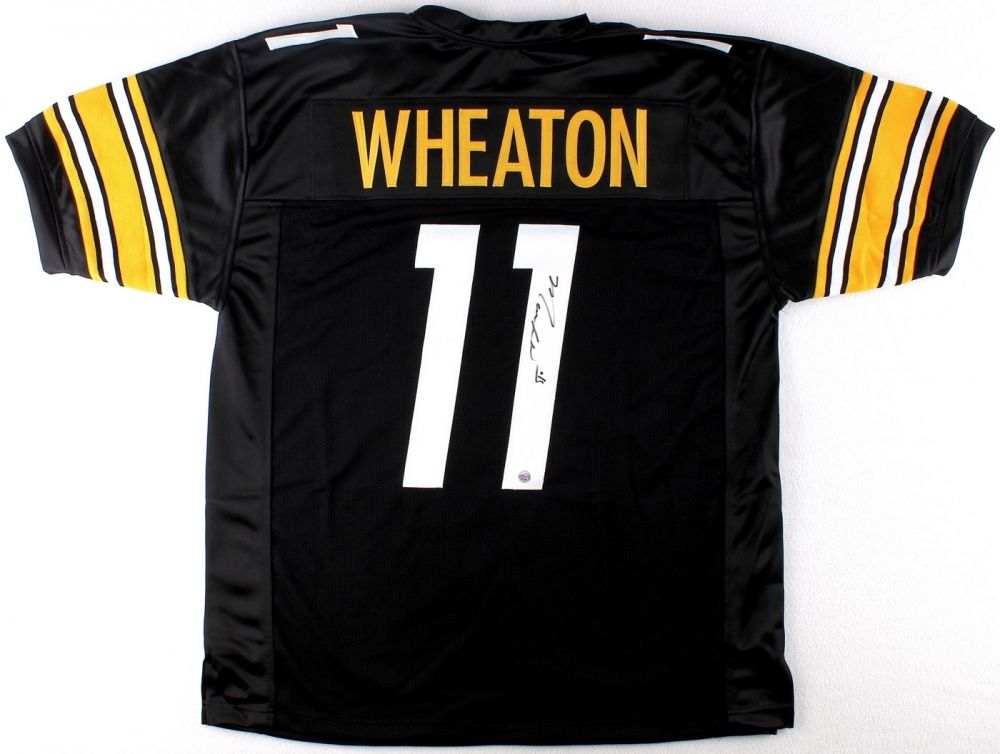 Markus Wheaton Signed  Pittsburg Steelers Jersey (TSE COA)