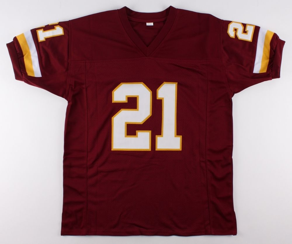 "Ernest Byner Signed Redskins Jersey Inscribed ""2X Pro Bowl"" (JSA COA)"
