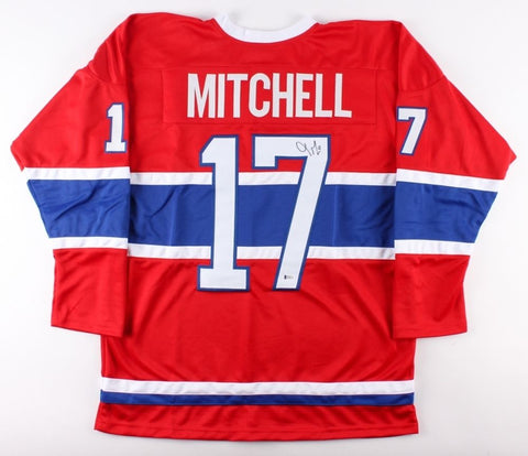 Torrey Mitchell Signed Canadiens Jersey (Beckett) Playing career  2007–present