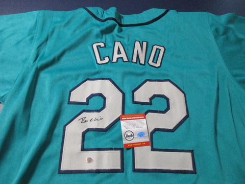 Robinson Cano Signed Mariners Jersey / 7× All-Star (2006, 2010–2014, 2016) COA