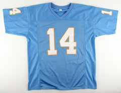 Dan Fouts Signed Chargers Jersey (PSA COA)  6× Pro Bowl (1979–1983, 1985)