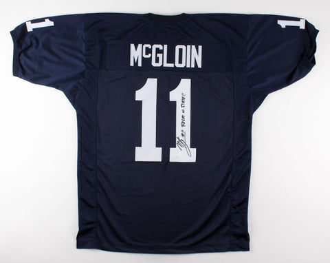 "Matt McGloin Signed Penn State Nittany Lions Jersey Inscribed ""Fight on State!!"""