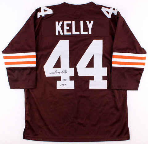 "Leroy Kelly Signed Browns Throwback Jersey Inscribed ""H.O.F 1994"" (JSA Hologram)"
