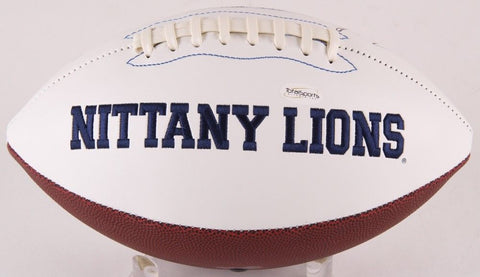"Jack Ham Signed Penn State Nittany Lions Logo Football Inscribed ""CHOF 90"" (TSE)"