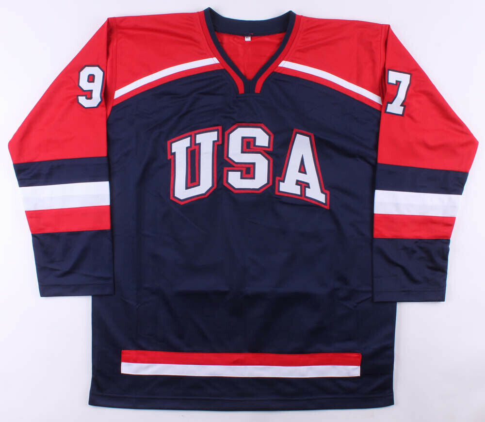 Jeremy Roenick Signed Team USA Jersey (Beckett COA) Playing career 1988–2009