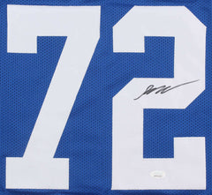 Braden Smith Signed Indianapolis Colts Jersey (JSA COA) 2018 2nd rd Draft Pick