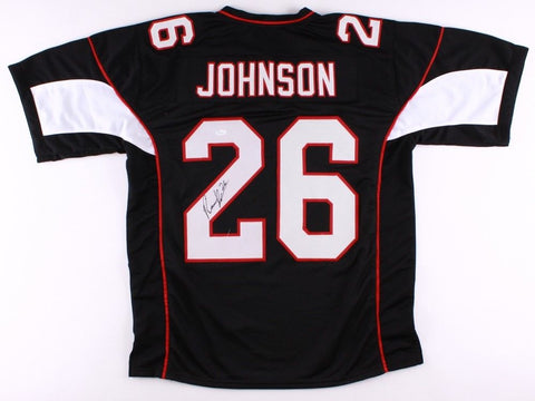 Rashad Johnson Signed Cardinals Jersey (JSA COA) Arizona Defensive Back