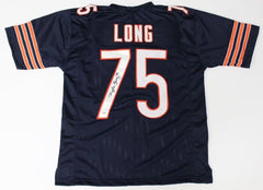 Kyle Long Signed Chicago Bears Jersey (PSA COA) 3× Pro Bowl Guard (2013–2015)