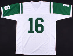 Vinny Testaverde Signed New York Jets Jersey (JSA) #1 Overall Draft Pick 1987