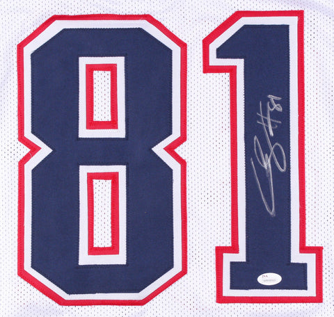 Cody Hollister Signed Patriots Jersey (JSA COA) New England Back Up Wide Out