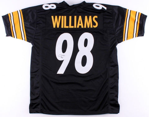 Vince Williams Signed Steelers Jersey (TSE COA) Former Florida State Standout LB