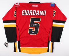 Mark Giordano Signed Flames Captains Jersey (PSA COA) All Star Defenseman