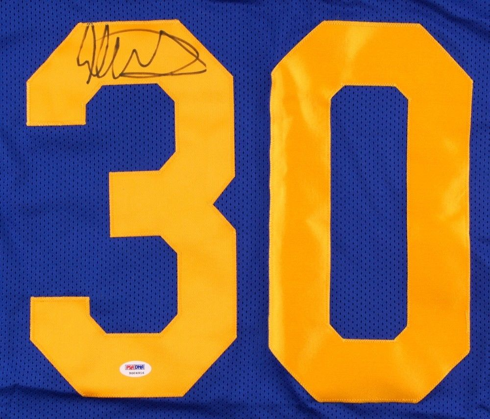 Todd Gurley Signed Los Angeles   St Louis Rams Blue   Yellow Jersey (PSA COA c1b054f2e
