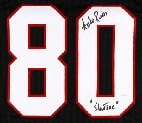 "Andre Rison Signed Falcons Jersey Inscribed ""Showtime"" (JSA COA) 5x Pro Bowl"