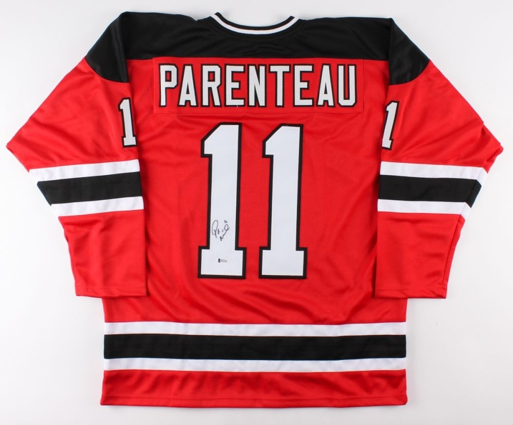 P. A. Parenteau Signed Devils Jersey (Beckett) Playing career 	2003–present