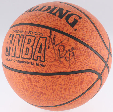 a2d04799783 Glen Rice Signed NBA Basketball (JSA)  4 Overall Pick 1989 NBA Draft Miami