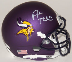 Adam Thielen Signed Minnesota Vikings Custom Matte Mini-Helmet (TSE COA)