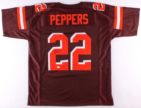 Jabrill Peppers Signed Browns Jersey (JSA) Cleveland 1st round pick Draft #22