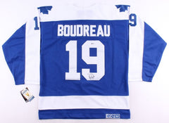Bruce Boudreau Signed Maple Leafs Jersey (Beckett ) Former Toronto Head Coach