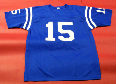 Earl Morrall Signed Baltimore Colts Jersey (JSA COA) 3× Super Bowl Champion