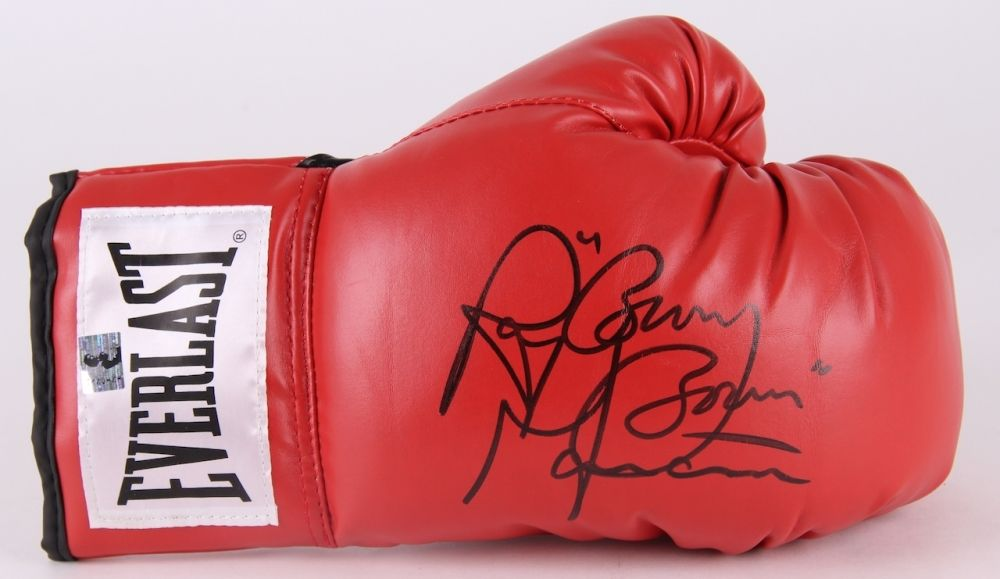 "Ray ""Boom Boom"" Mancini Signed Everlast Boxing Glove (Mancini Hologram)"