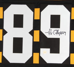 Jerricho Cotchery Signed Steelers Throwback Jersey (Gridiron Legends COA)