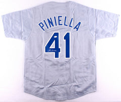 Lou Piniella Signed Chicago Cubs Jersey (JSA COA)