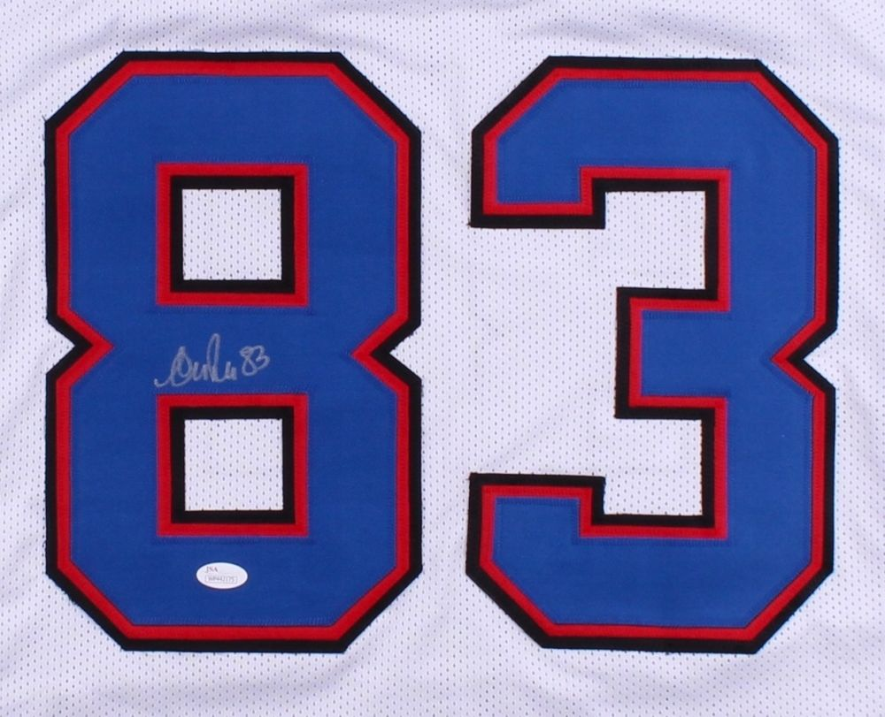ANDRE REED AUTORGAPHED SIGNED BUFFALO BILLS  JERSEY
