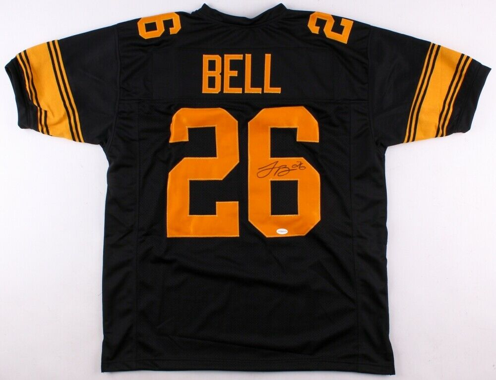 Le'Veon Bell Signed Steelers Color Rush Jersey (TSE COA) 2×Pro Bowl (2014, 2016)