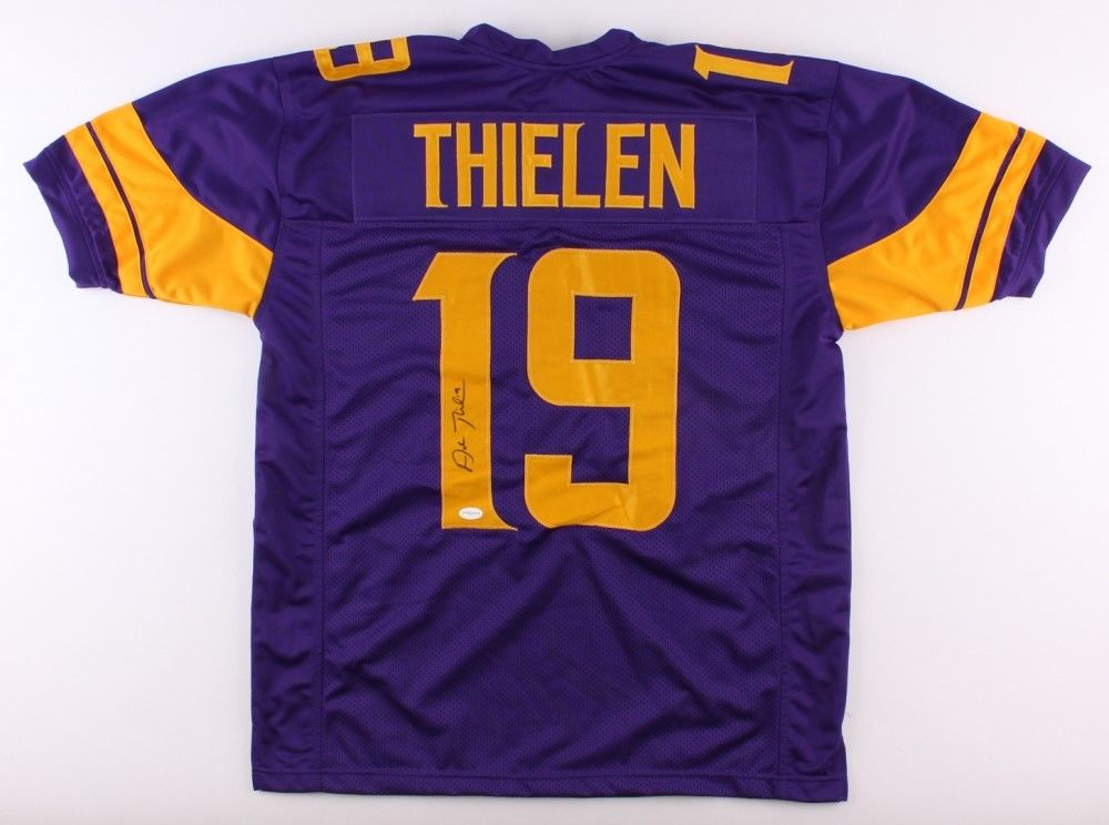 Adam Thielen Signed Vikings Jersey (TSE Hologram) Minnesota's #1 Wide Receiver