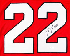 Tony Jefferson Signed Cardinals Jersey (JSA COA) Arizona Defensive Back