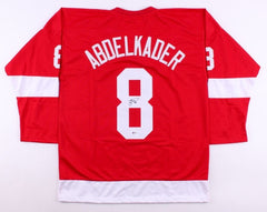 Justin Abdelkader Signed Red Wings Jersey (Beckett) Playing career  2008–present