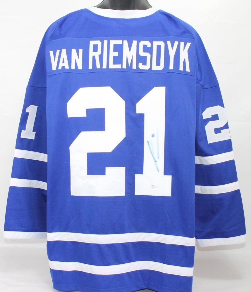 save off 32140 c699d James van Riemsdyk Signed Maple Leafs Jersey (JSA) 2nd Overall Pick 2007  Draft