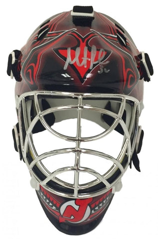 Martin Brodeur Signed Devils Mini Goalie Mask (Steiner) Playing career 1991–2015