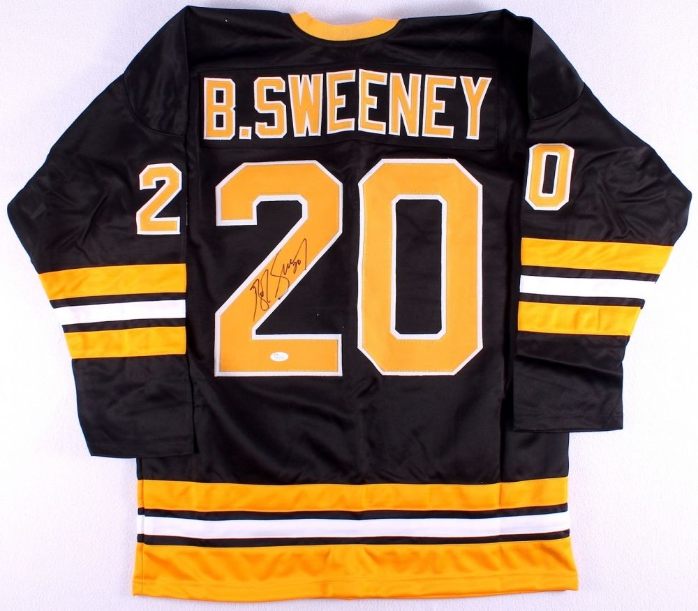 Bob Sweeney Signed Boston Bruins Jersey (JSA COA)