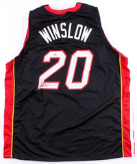 Justise Winslow Signed  Miami Heat Jersey (PSA COA) former Duke Blue Devil