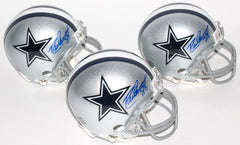 Drew Pearson Dallas Cowboys signed Mini Helmet  (TPL Holo) Super Bowl XII Champ
