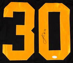 James Conner Signed Steelers Jersey (TSE) Le'Veon Bell's Back up Running Back