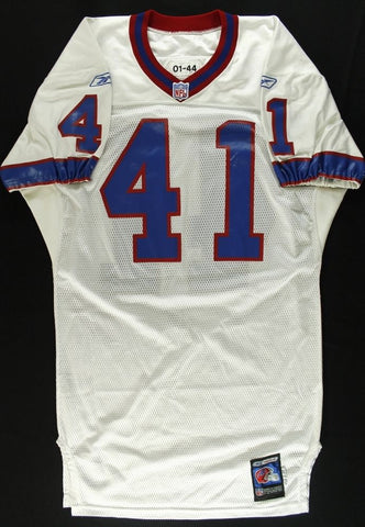 Phil Crosby Game-Used Bills Jersey (PA LOA)