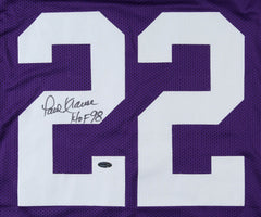Paul Krause Signed Minnesota Vikings Jersey (Pro Player Hologram) 8xPro Bowl D.B