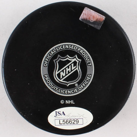 Paul Stastny Signed St Louis Blues Logo Hockey Puck (JSA Hologram)