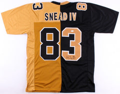 Willie Snead IV Signed Saints Split Home / Away Jersey (JSA COA)