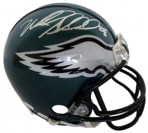 Wendell Smallwood Signed Eagles Mini Helmet (JSA COA) 2016 5th Rnd Pick R.B.