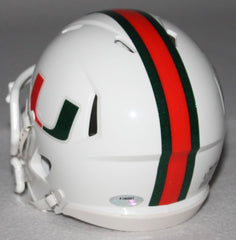 Allen Hurns Signed Miami Hurricanes Mini-Helmet (Schwartz COA)