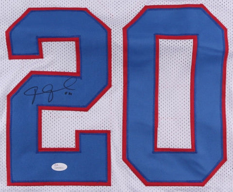 Janoris Jenkins Signed Giants Jersey (JSA COA) 2016 Pro Bowl Cornerback