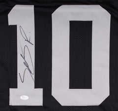 Seth Roberts Signed Raiders Jersey (JSA COA) Oakland Wide Receiver since 2015