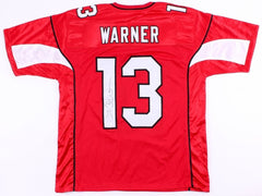 Kurt Warner Signed Arizona Cardinals Jersey JSA COA Super Bowl XLIII Quarterback