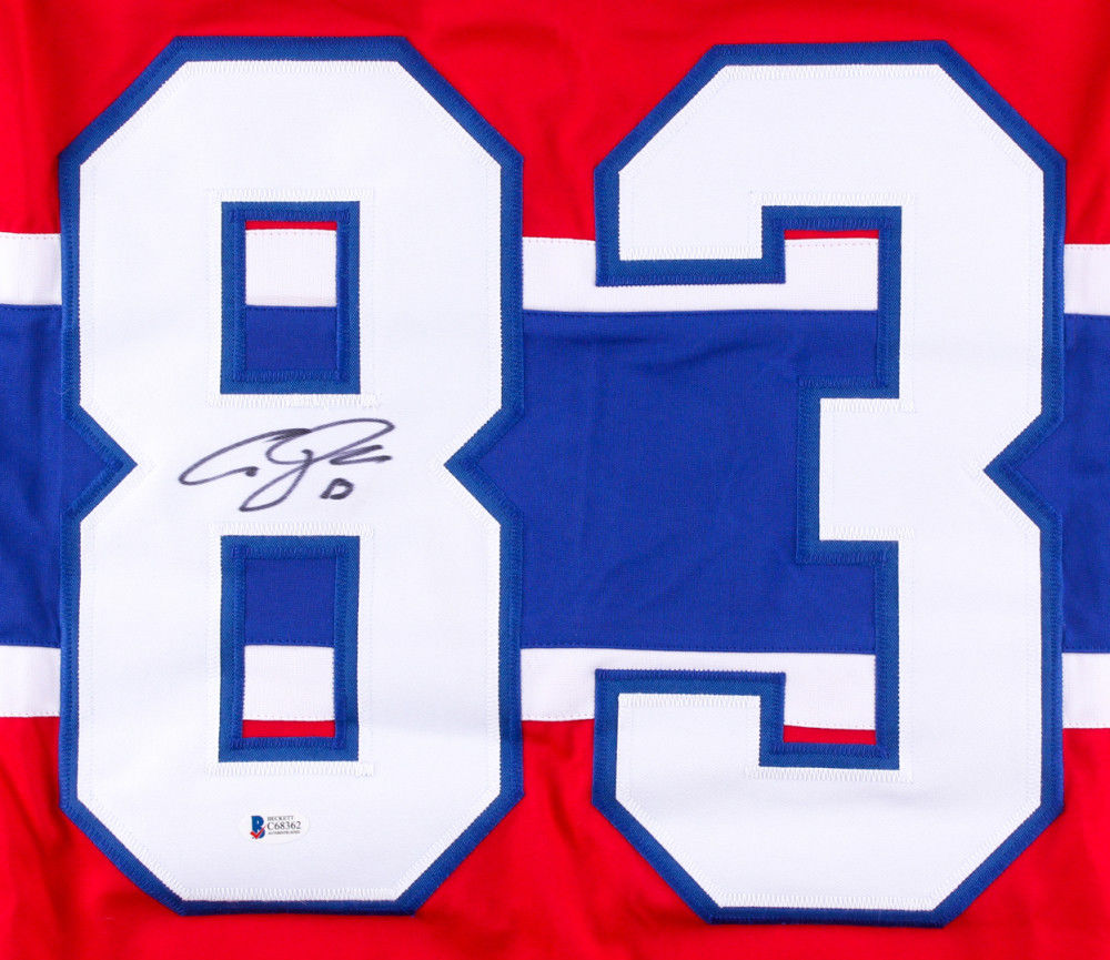 Ales Hemsky Signed Canadiens Jersey (Beckett COA) Playing career 2002–present