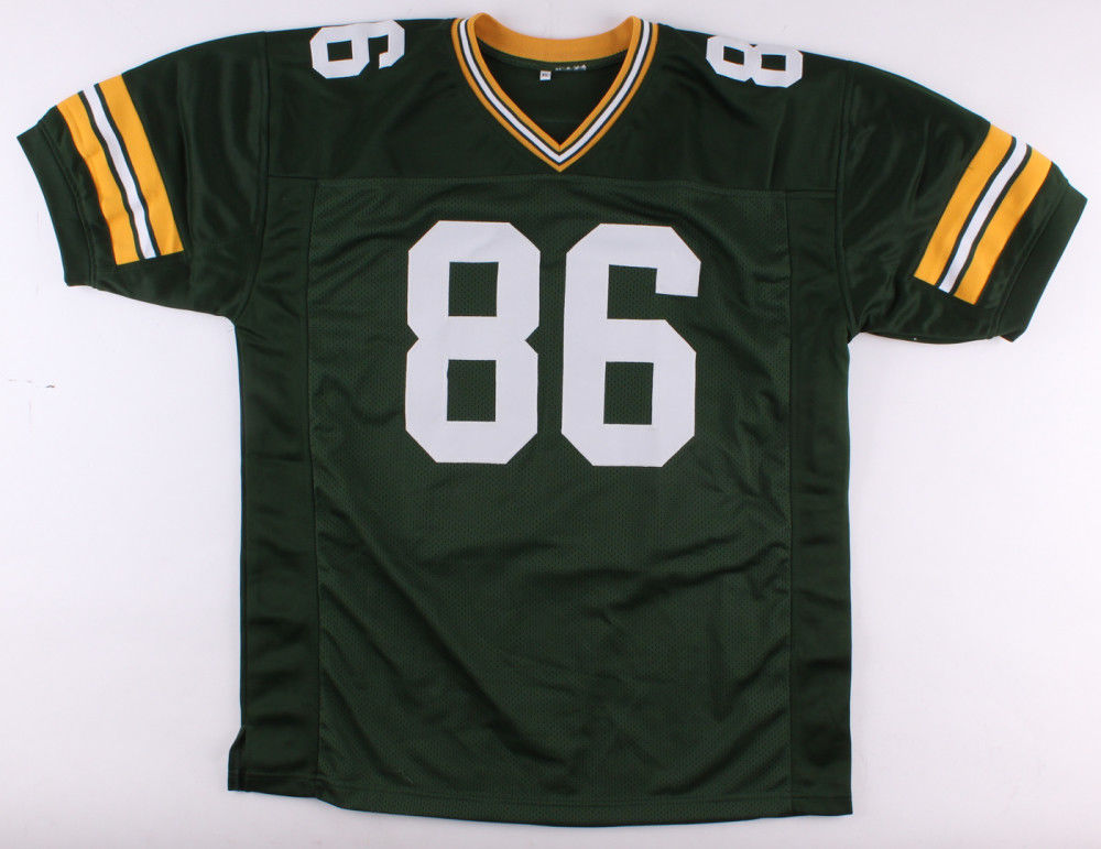 "Antonio Freeman Signed Packers Jersey Inscribed ""Go Pack Go"" (JSA COA)"