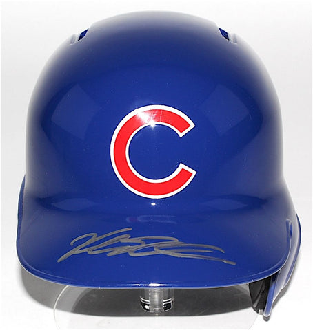 Kyle Schwarber Signed Cubs Rawlings Full-Size Batting Helmet (JSA COA)